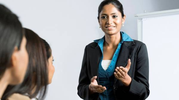 Body language tips when presenting